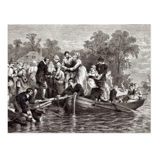Carte Postale Épouses pour les colons chez Jamestown