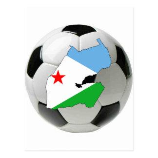 Carte Postale Équipe nationale de Djibouti
