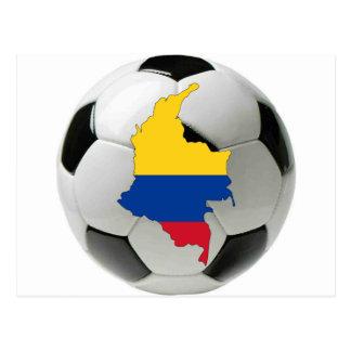 Carte Postale Équipe nationale de la Colombie
