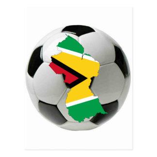 Carte Postale Équipe nationale de la Guyane