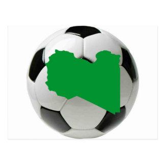 Carte Postale Équipe nationale de la Libye