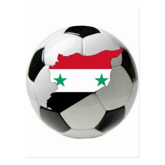 Carte Postale Équipe nationale de la Syrie