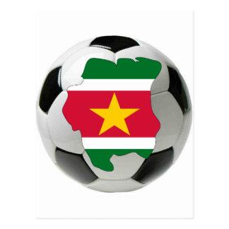 Carte Postale Équipe nationale du Surinam