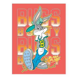 Carte Postale Équipement d'école de cool de ™ de BUGS BUNNY