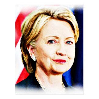 Carte Postale ęr Le Président Hillary Clinton 2016_ de femme
