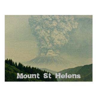Carte Postale Éruption de volcan du Mont Saint Helens
