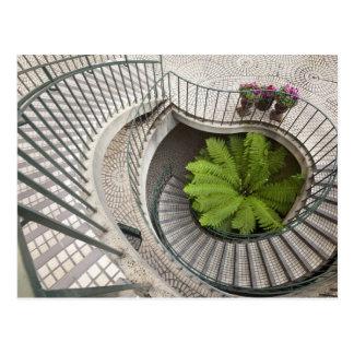 Carte Postale Escalier en spirale au centre d'Embarcadero