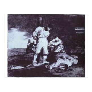 Carte Postale Et il ne peut pas être changé par Francisco Goya
