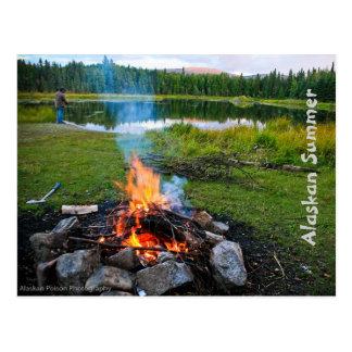 Carte Postale Été d'Alaska