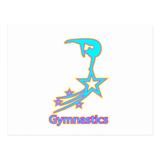 Carte Postale Étoile de gymnastique