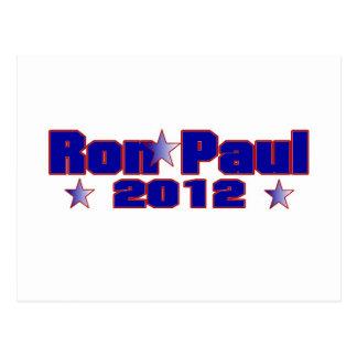 Carte Postale Étoile présidentielle de Ron Paul