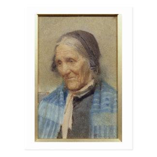 Carte Postale Étude de dame âgée, 1912 (la semaine sur le