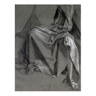 Carte Postale Étude des robes longues du Christ, 1508