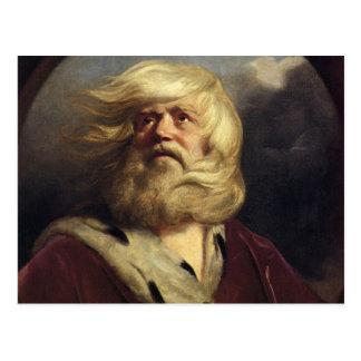 Carte Postale Étude pour le Roi Lear - Joshua Reynolds