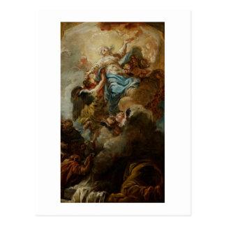 Carte Postale Étudiez pour l'acceptation de la Vierge, c.1760 2