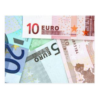 Carte Postale Euro argent