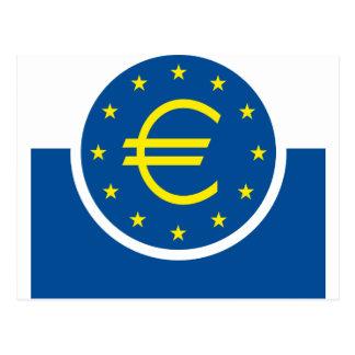 Carte Postale Euro symbolisme - legs européen