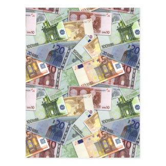 Carte Postale Euro voyage