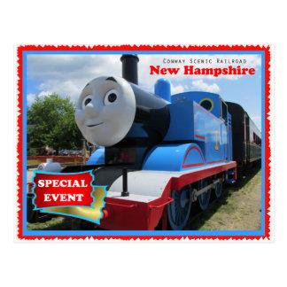 Carte Postale Événement pittoresque de chemin de fer de Conway