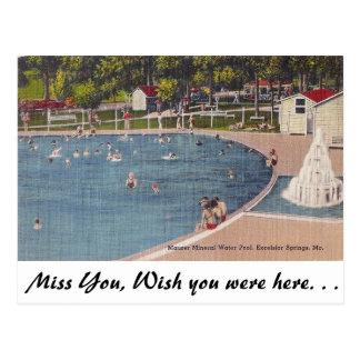 Carte Postale Excelsior Springs, Missouri