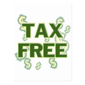 Carte Postale Exempt d'impôt