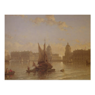 Carte Postale Expédition sur la Tamise à Greenwich
