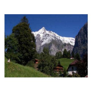 Carte Postale Explorez la Suisse Bernese Oberland