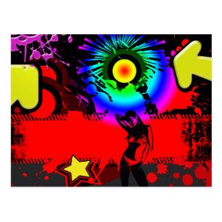 Carte Postale Explosion de bruit