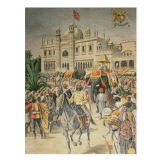 Carte Postale Exposition de 1900 : le pavillon Anglo-Indien