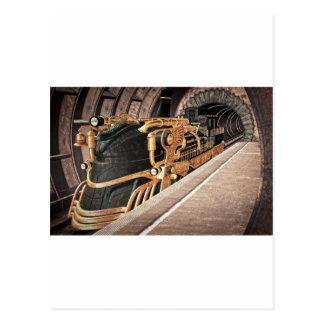 Carte Postale Express de Steampunk