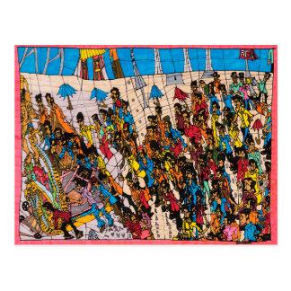 Carte Postale Extrémités de défilé