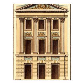 Carte Postale Façade architecturale par Jean Deneufforge