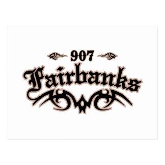 Carte Postale Fairbanks 907