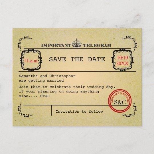 Save the Date Personnalisé Cartes X 10 Mariage Save the Date aimants
