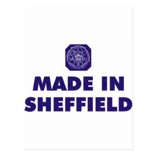 Carte Postale Fait à Sheffield