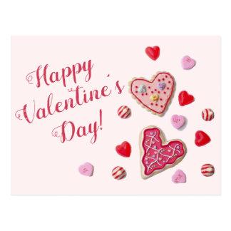 Carte postale faite sur commande de Valentine de