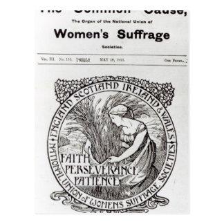 Carte Postale Faith, Perseverance, Patience, 1911
