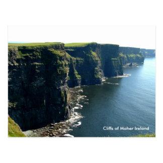 Carte Postale Falaises de Moher Irlande