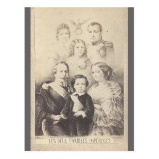 Carte Postale Famille impériale Bonaparte de la France #001F