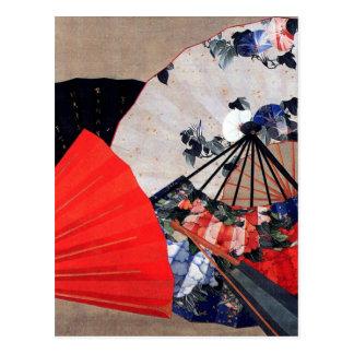 Carte Postale Fans par Hokusai