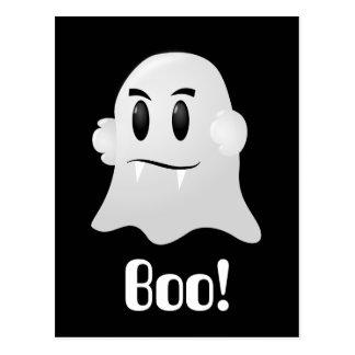 Carte Postale Fantôme amical de Halloween