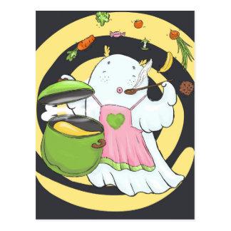 Carte Postale Fantôme de Cutee