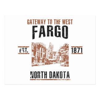 Carte Postale Fargo