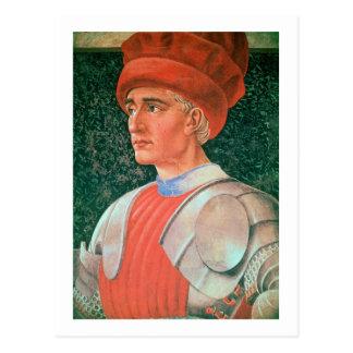 Carte Postale Farinata degli Uberti, détail de son buste, de Th