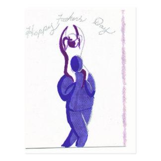 Carte Postale FathersDay