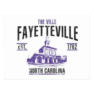 Carte Postale Fayetteville