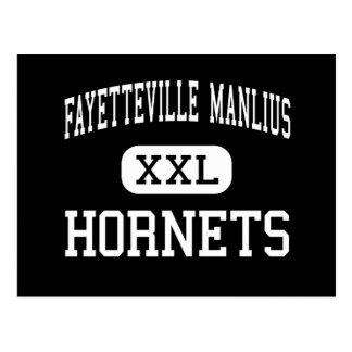 Carte Postale Fayetteville Manlius - frelons - haut - Manlius