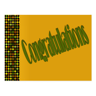 Carte Postale Félicitations