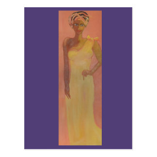Carte Postale Femme africaine majestueuse