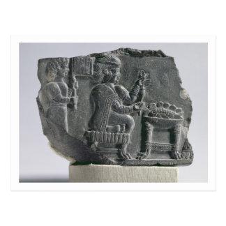 Carte Postale Femme d'Elamite tournant, Néo--Elamite période,